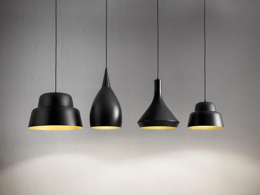 Aluminium pendant lamp CAPPADOCIA by Aldo Bernardi
