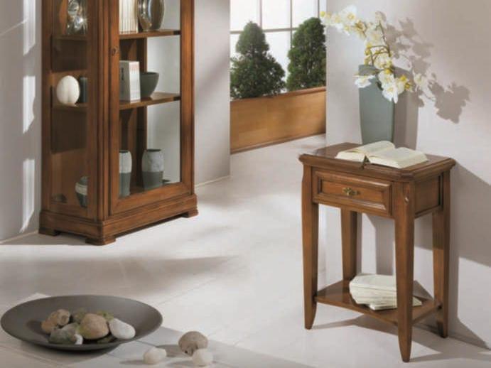 Tavolino in legno massello con vano contenitore CAPRI | Tavolino by Arvestyle