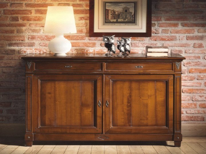 Classic style cherry wood sideboard CAPRICCI | Classic style sideboard by Prestige