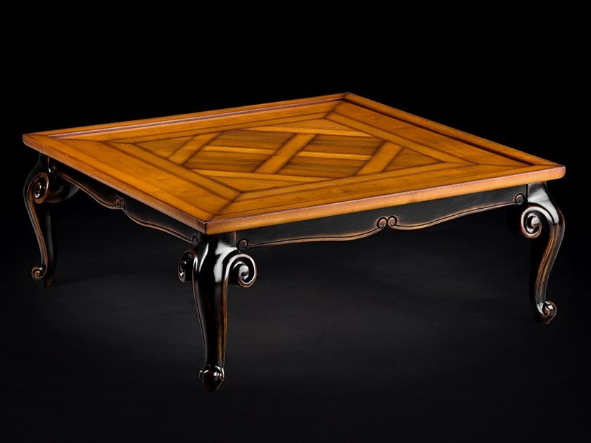 Cherry wood coffee table for living room CAPRICCI | Coffee table for living room by Prestige