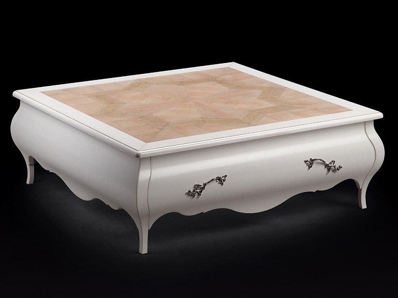 Lacquered square coffee table CAPRICCI | Lacquered coffee table by Prestige