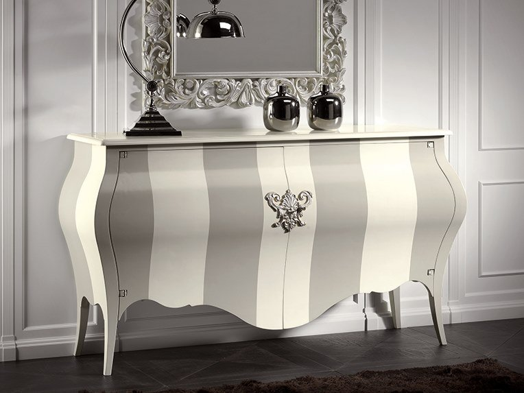 Multi-layer wood sideboard with doors CAPRICCI | Multi-layer wood sideboard by Prestige