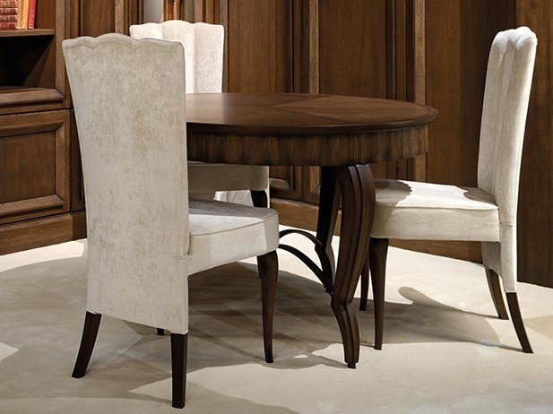 Round oak table CAPRICCI | Round table by Prestige