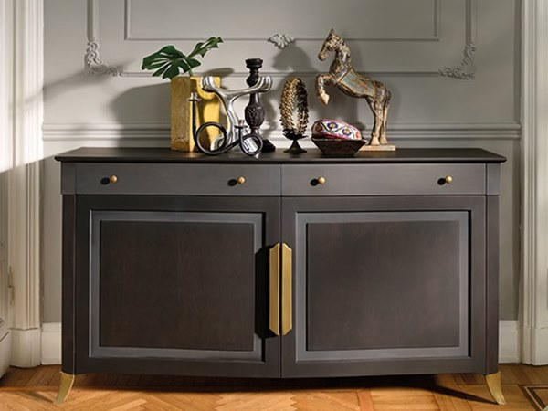 Contemporary style sideboard with doors CAPRICCI | Contemporary style sideboard by Prestige