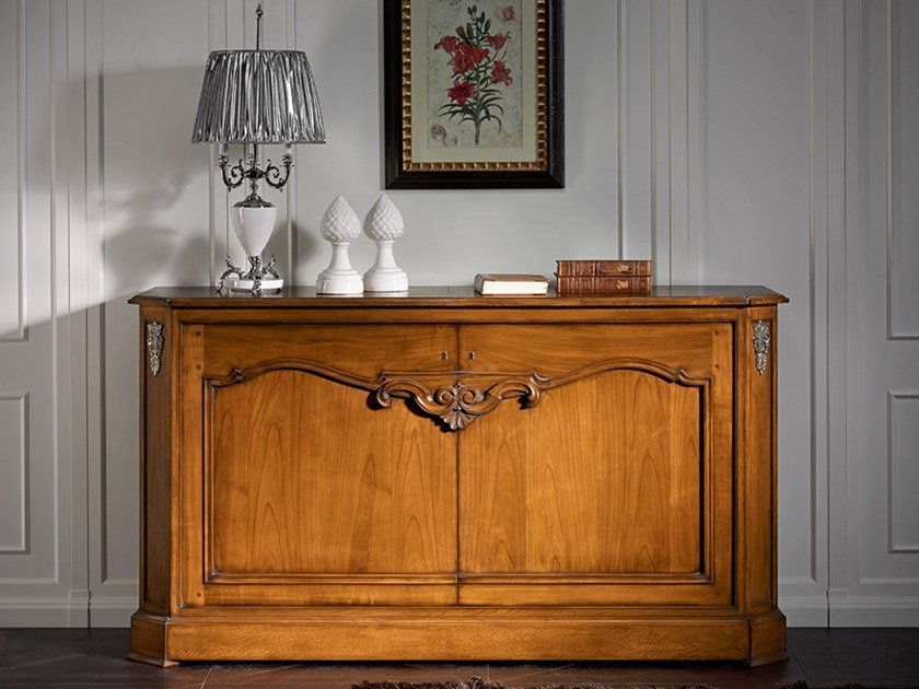 Solid wood sideboard with doors CAPRICCI | Solid wood sideboard by Prestige