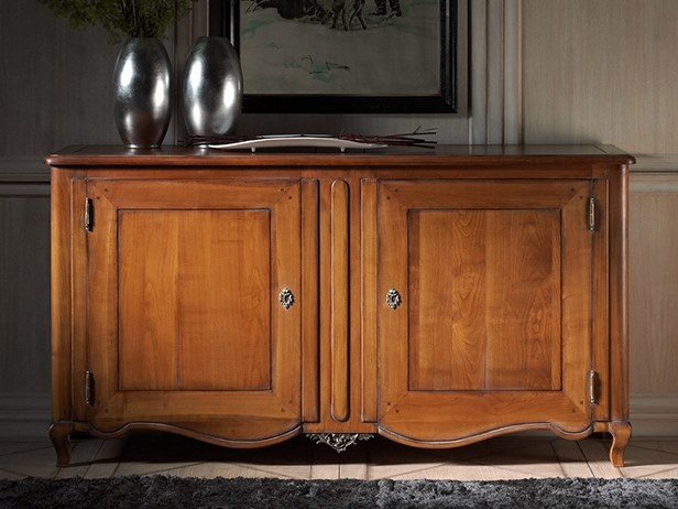 Wooden sideboard with doors CAPRICCI | Wooden sideboard by Prestige