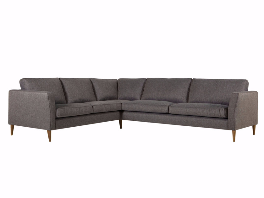 5 seater corner upholstered fabric sofa CAPRICE | Corner sofa by SITS