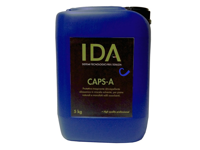 Asbestos encapsulation treatment and product CAPS-A by IDA