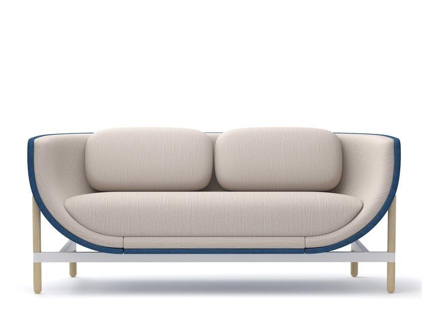 2-er Sofa aus Stoff CAPSULE LOUNGE | 2-er Sofa by Casala