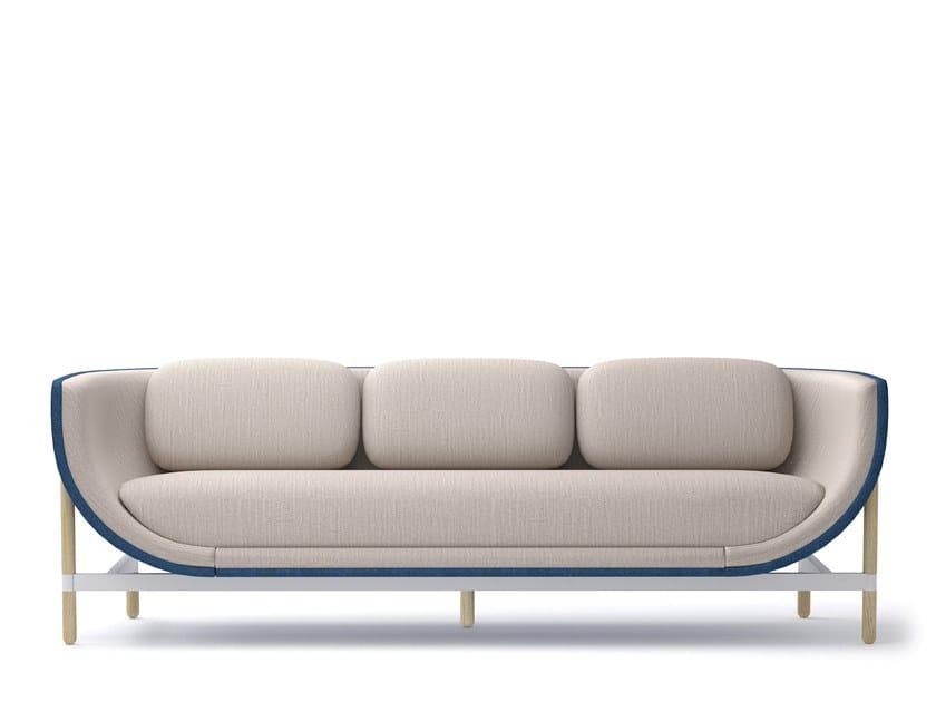 3-er Sofa aus Stoff CAPSULE LOUNGE | 3-er Sofa by Casala
