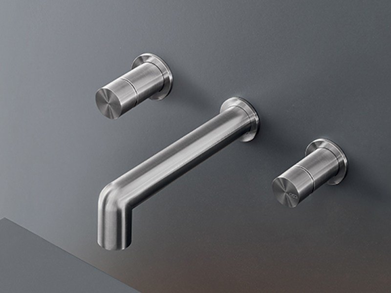 Wall mounted set of 2 individual taps CAR 27 by Ceadesign
