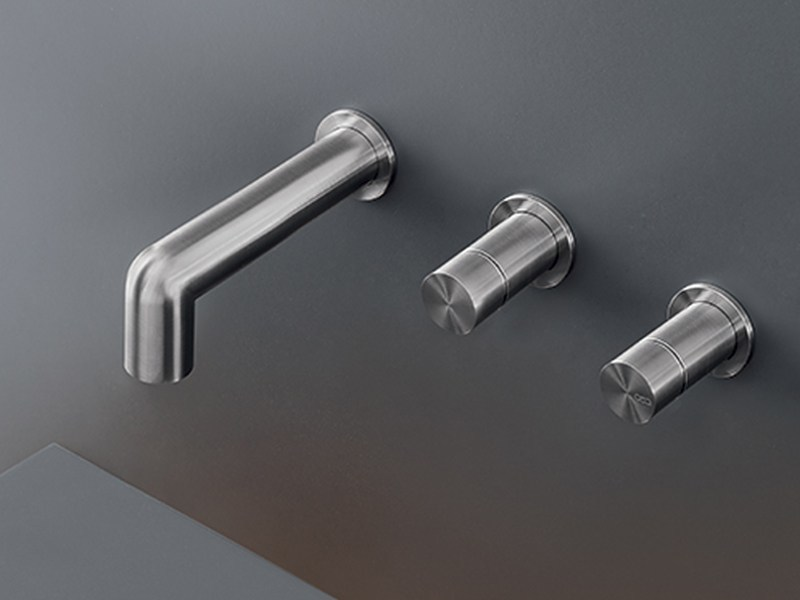Wall mounted set of 2 individual taps CAR 30 by Ceadesign