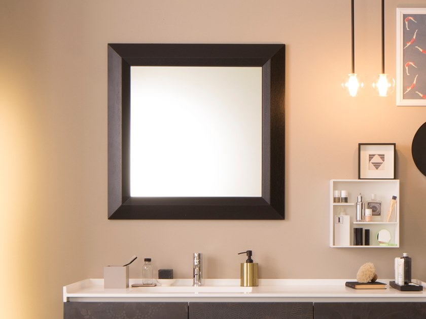 Framed wall-mounted mirror CARACALLA by Capo d'Opera