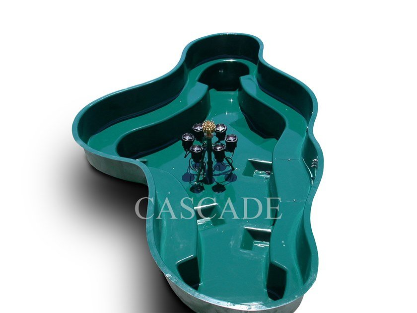 Vasche prefabbricate in materiale composito preassemblate CARAIBI by CASCADE