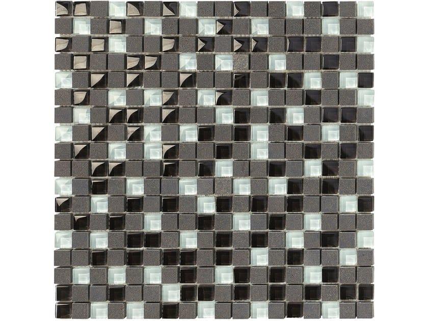 Basalt mosaic CARBON GLASS by BOXER