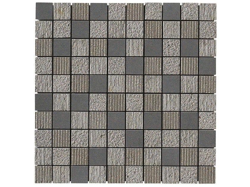 Basalt mosaic CARBON MULTIEFFECT MOSAIC by BOXER