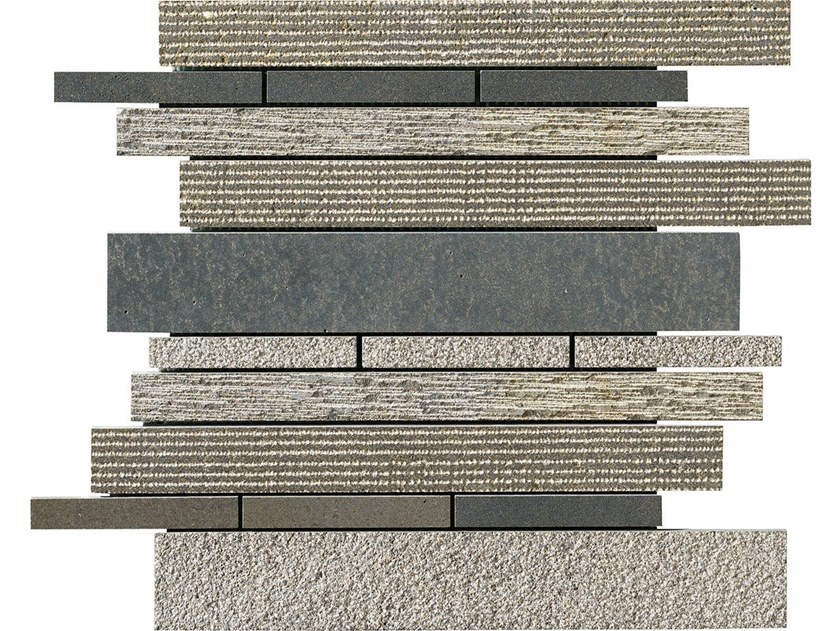 Basalt mosaic CARBON MULTIEFFECT STRIP by BOXER