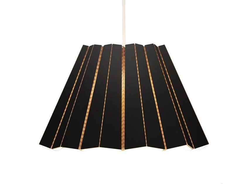 Cardboard pendant lamp SKIRT | Cardboard pendant lamp by Arkki by Lovi