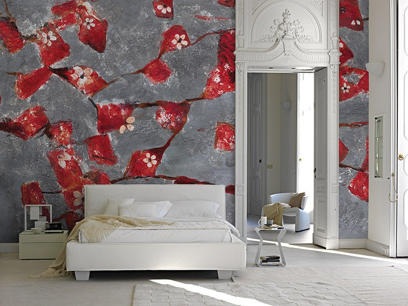 Motif panoramic wallpaper CARDINAL by Inkiostro Bianco