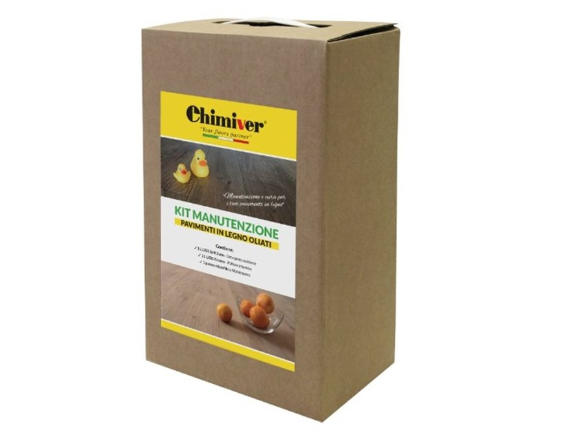 Kit Maintenance CARE LINE KIT OILED WOODEN FLOORS by Chimiver Panseri