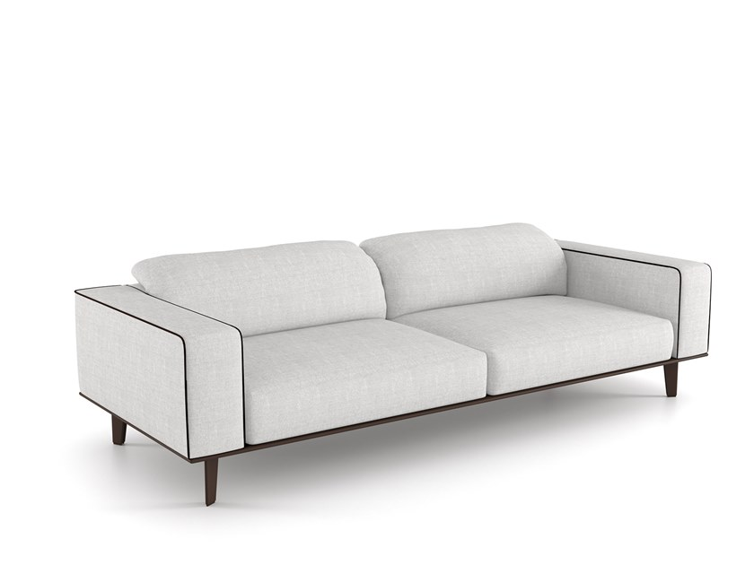 Sectional fabric sofa with removable cover CARESSE EN-VOL | Sofa by ESTEL GROUP