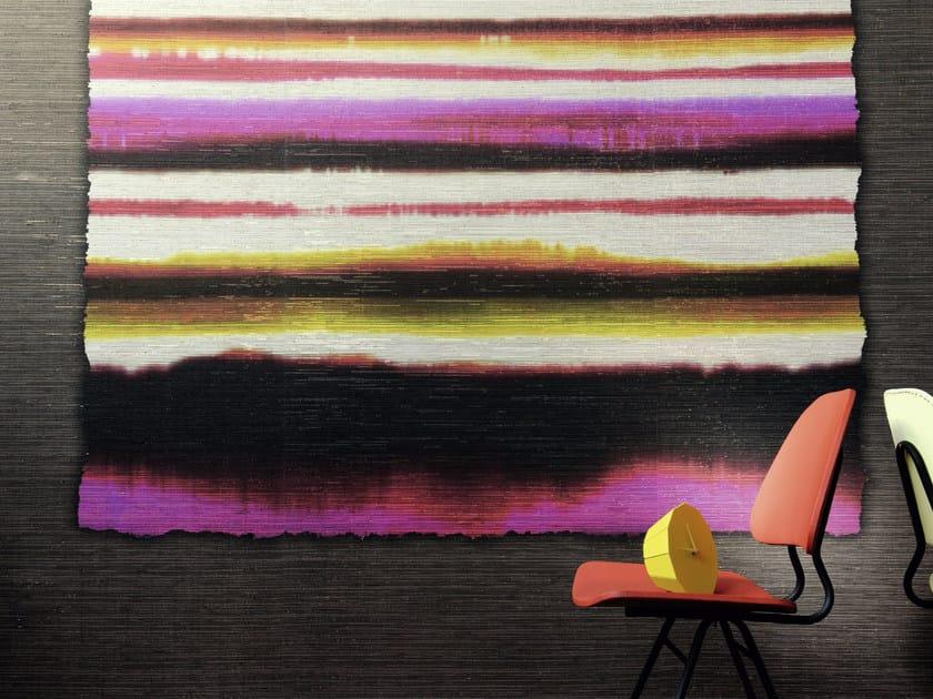 Striped panoramic wallpaper CAREYES by Élitis