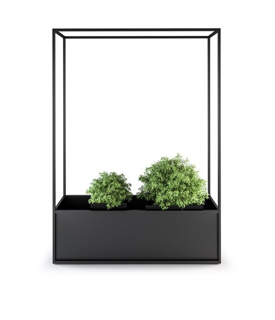 Metal planter CARL PLANTERS by Röshults