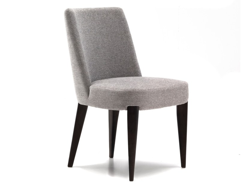 Upholstered fabric chair CARLA by Annibale Colombo