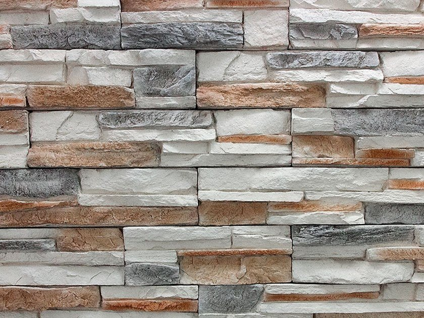 Reconstructed stone wall tiles CARLO MAGNO by Decor