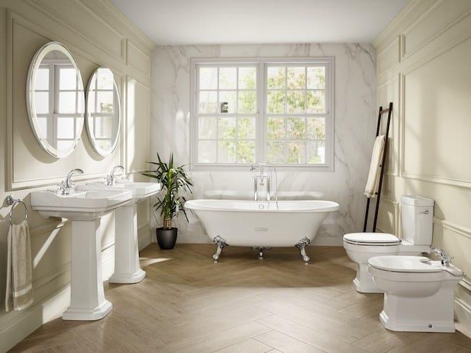 Bathroom furniture set CARMEN by ROCA SANITARIO
