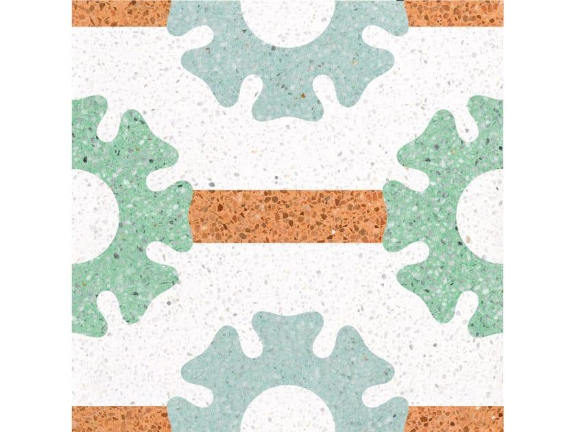 Pavimento/rivestimento in graniglia CAROLINA by Mipa