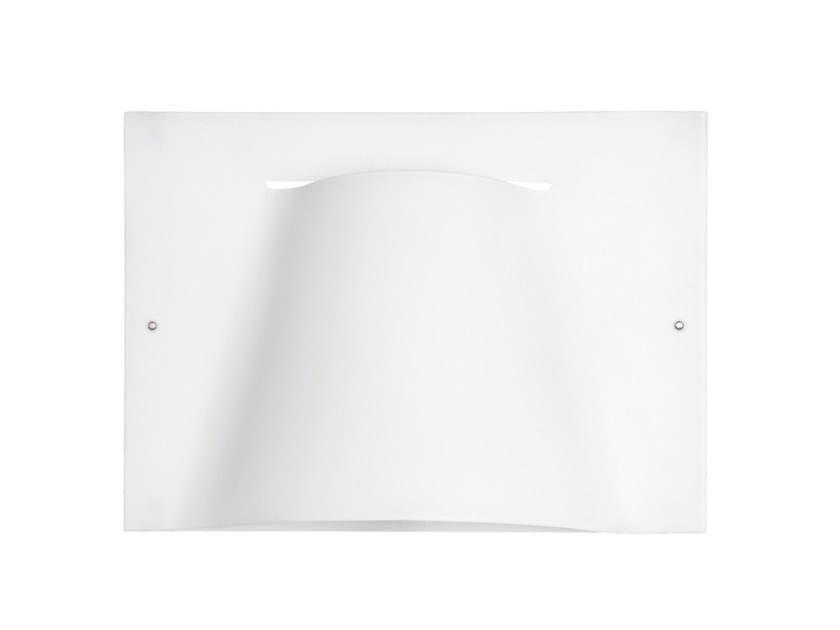 Satin glass wall light CARPET | Wall light by Estiluz