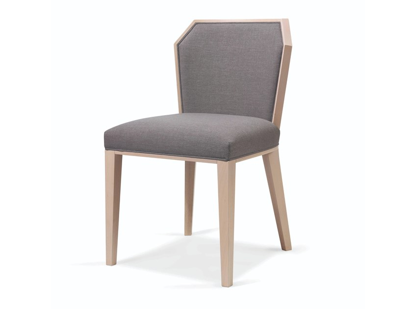 Upholstered fabric chair CARPIEN by Fenabel