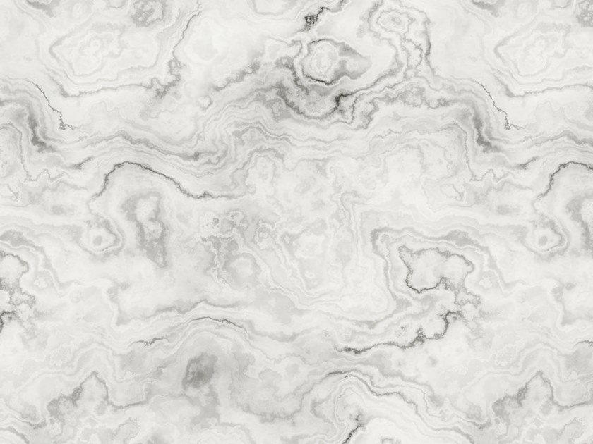 Digital printing wallpaper with marble effect CARRARA by Architects Paper
