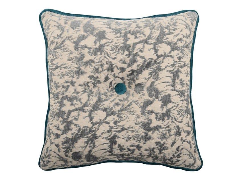 Square fabric cushion CARRÈ 329-15 by l'Opificio