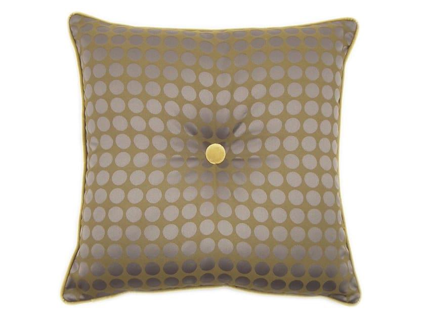 Square fabric cushion CARRÉ 179-13 by l'Opificio