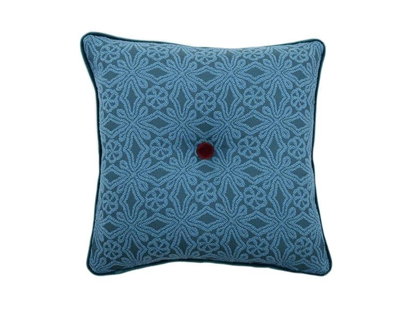 Square fabric cushion CARRÉ by l'Opificio