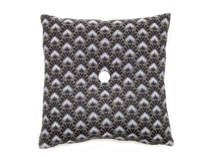 Square fabric cushion CARRÉ by l'Opificio