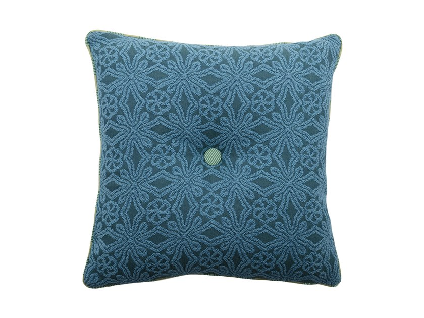 Square fabric cushion CARRÉ 232-15 by l'Opificio