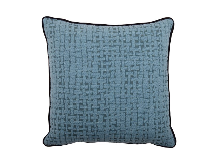 Square fabric cushion CARRÉ 100-16 by l'Opificio