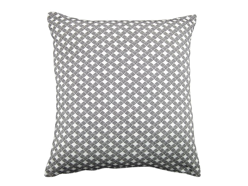 Square fabric cushion CARRÉ 353-18 by l'Opificio