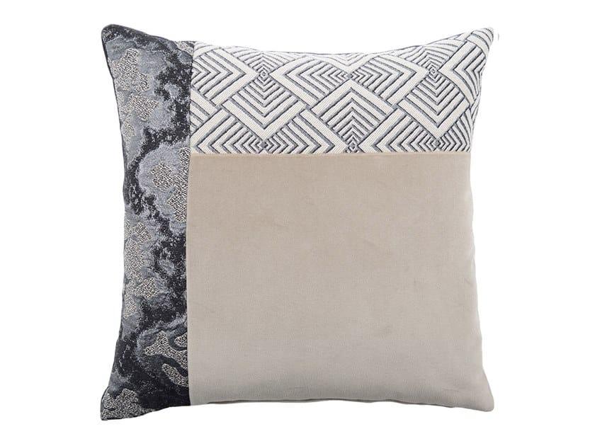 Square fabric cushion CARRÉ T 185-15 by l'Opificio