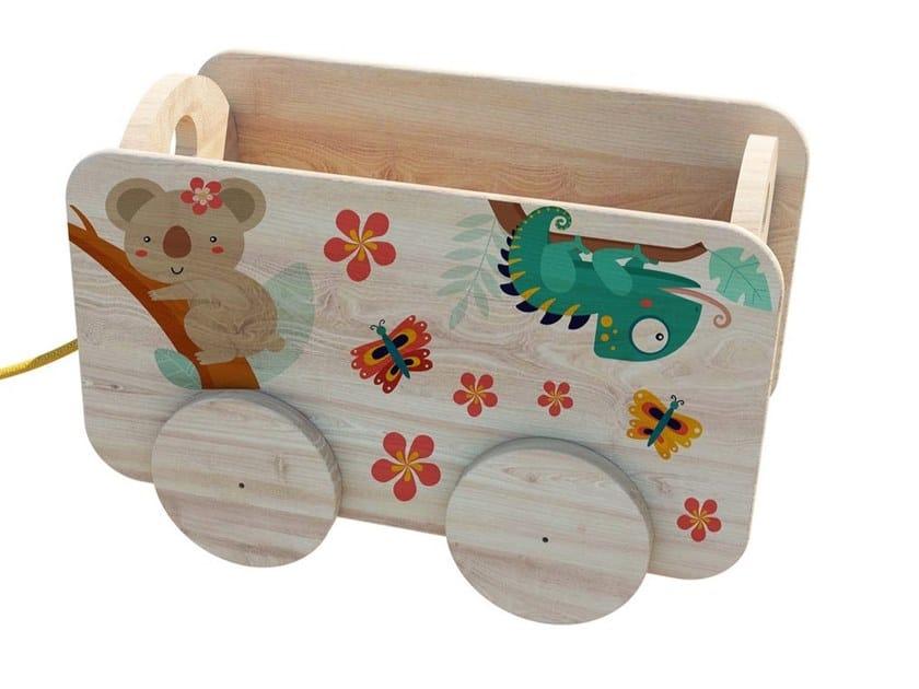 Gioco in legno CARRETTO by Zuri Design