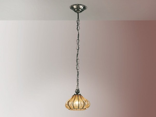 Murano glass pendant lamp CARRO MS 171 by Siru