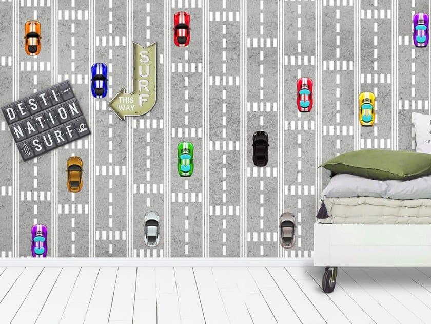 Motif wallpaper CARS by Wall LCA