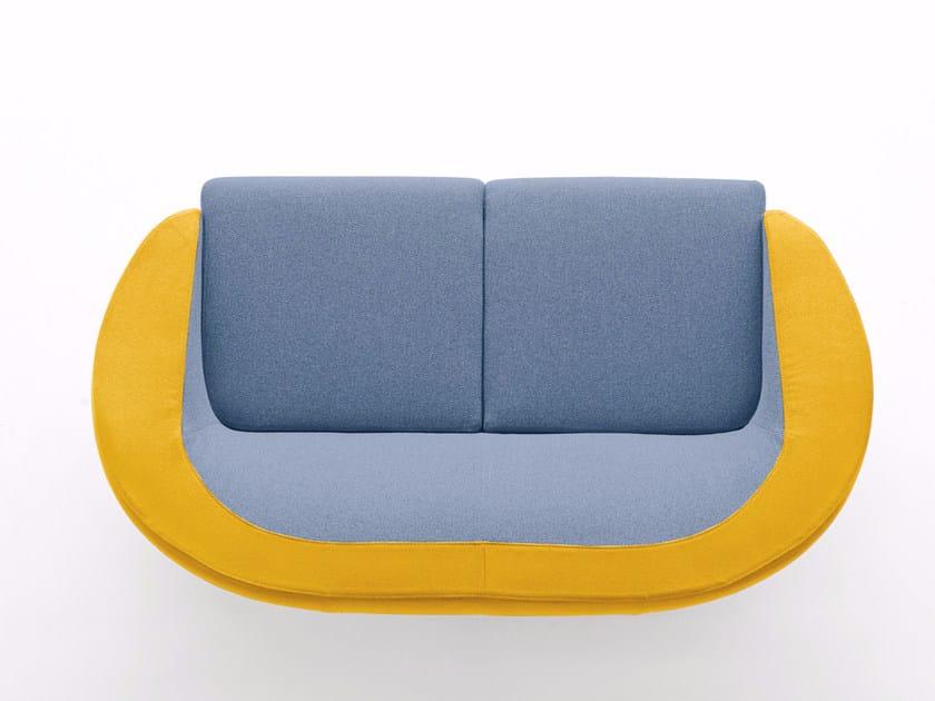 2 seater fabric sofa CART | 2 seater sofa by Ditre Italia