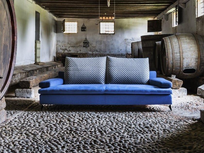 Fabric sofa with removable cover CARTESIO | Sofa by Gobbo Salotti