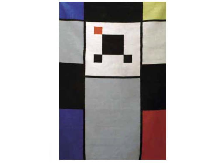 Handmade rectangular wool rug CARTOON   Rug by Mirabili