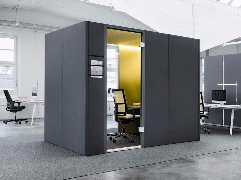 Acoustic office booth CAS ROOMS CAS Collection By Carpet Concept