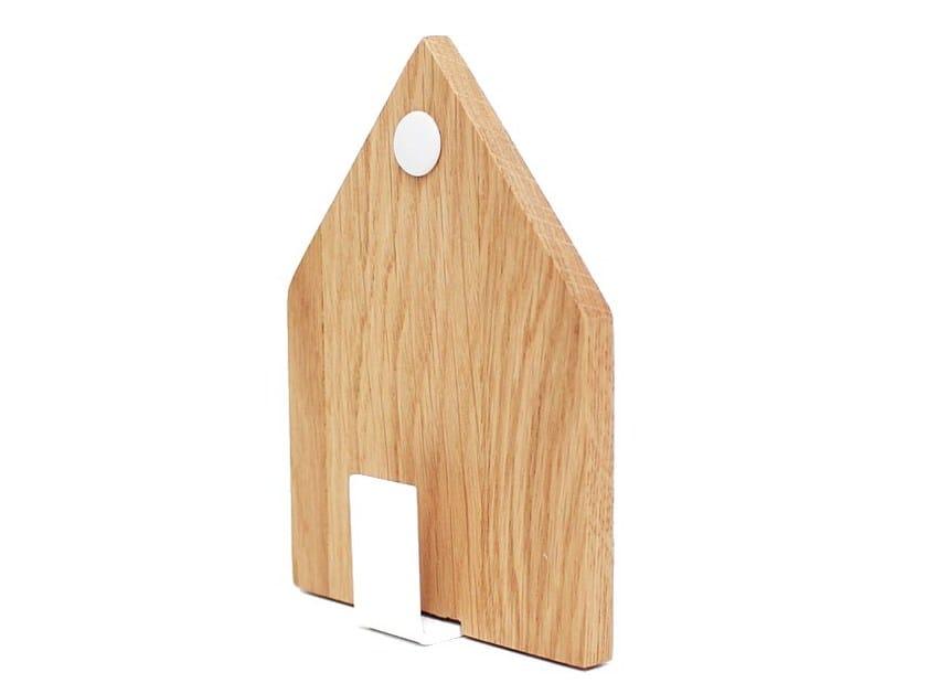 Oak wall hook CASA BLANCA   Oak wall hook by Otono Design